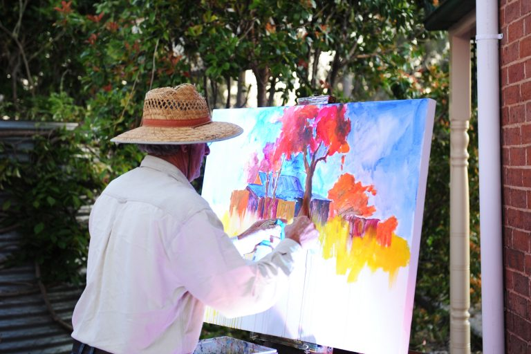 Artist in Mudgee