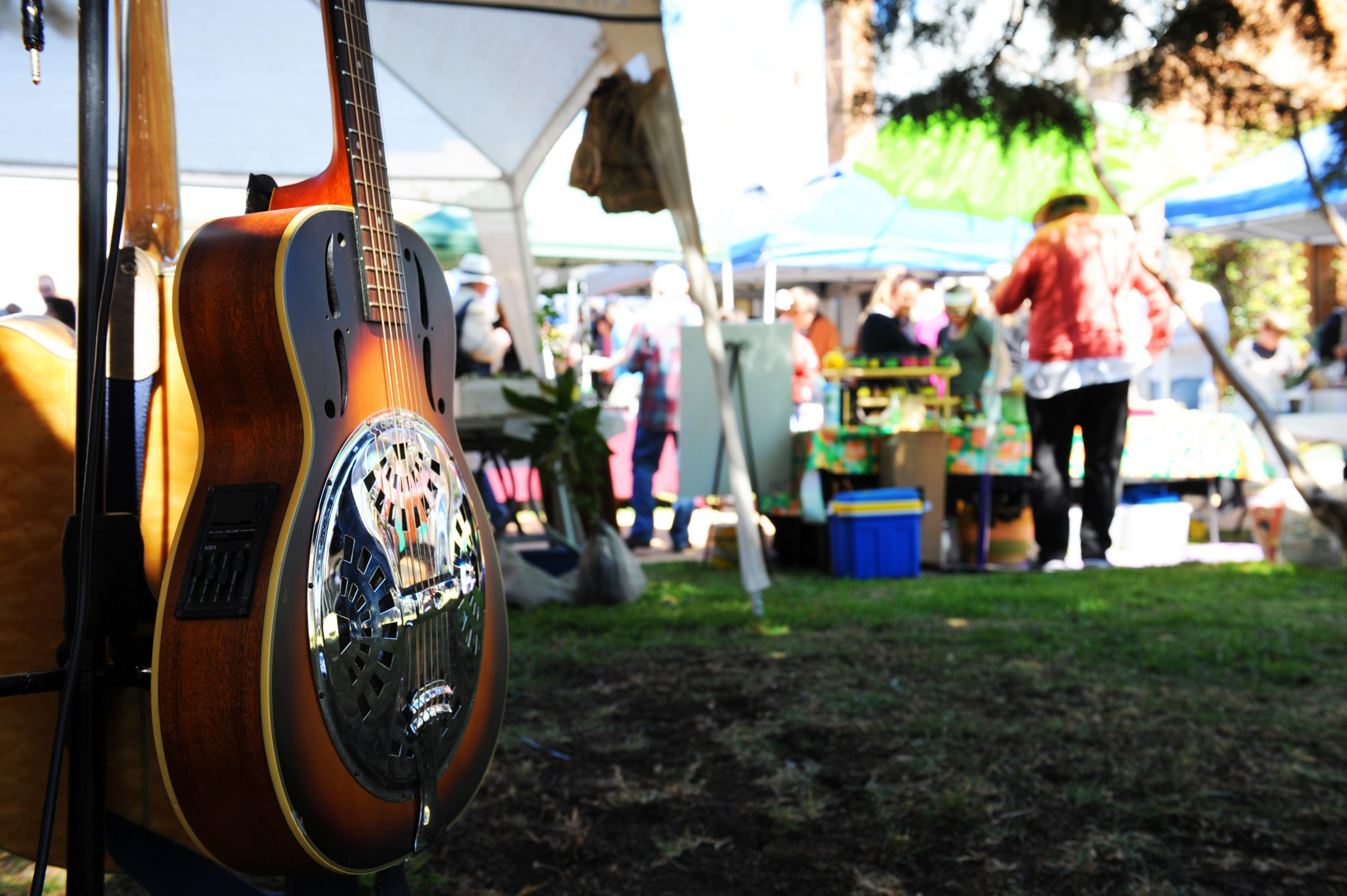 Live Music at Mudgee Markets