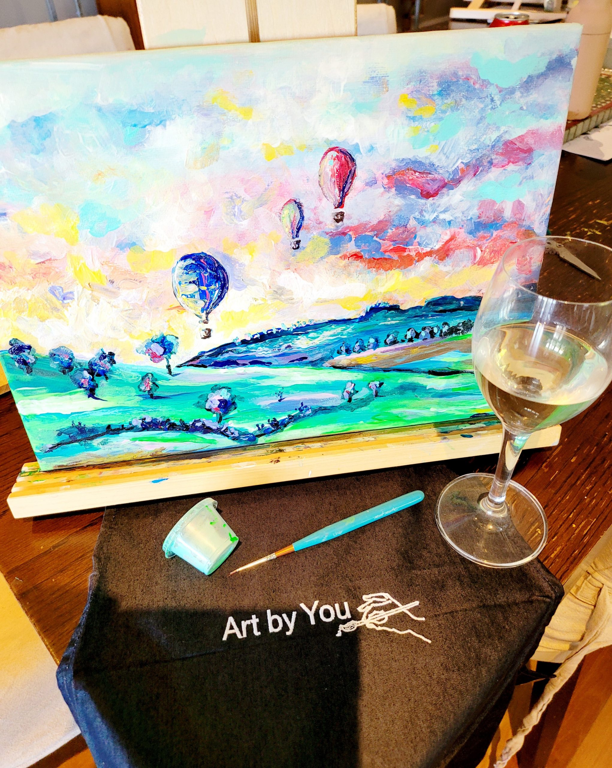 Paint and Sip Mudgee